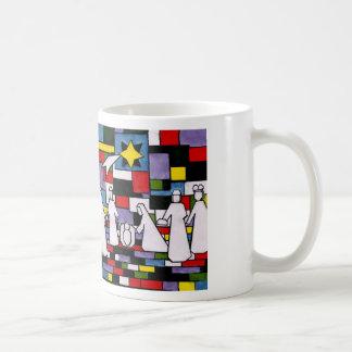 モンドリアンの出生- De Stijl - Neoplasticism コーヒーマグカップ