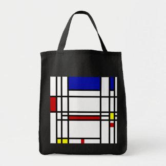 モンドリアンの近代美術 トートバッグ