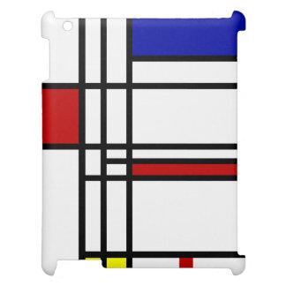 モンドリアンの近代美術 iPadケース