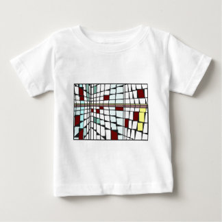 モンドリアンシティ2 ベビーTシャツ
