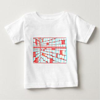モンドリアンシティ5 ベビーTシャツ