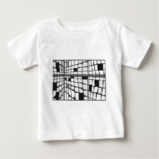 モンドリアンシティ7 ベビーTシャツ