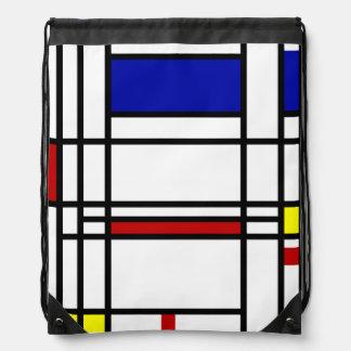 モンドリアン|の近代美術 ナップサック