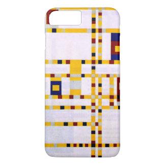 モンドリアン-ブロードウェイのブギウギWoogie iPhone 8 Plus/7 Plusケース