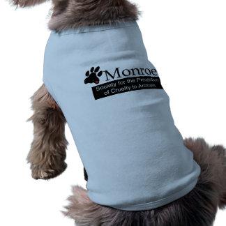 モンローSPCA犬の骨があるタンクトップ ペット服