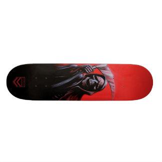 モーガンのデザインによる死神のスケートのデッキ 18.4CM ミニスケートボードデッキ