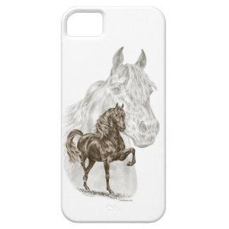 モーガンの馬の芸術 iPhone SE/5/5s ケース