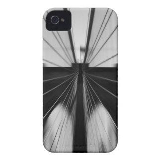モーションブラーのブルックリン橋 Case-Mate iPhone 4 ケース