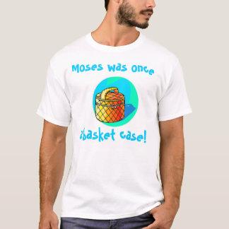 モーゼはかつて不安定状態でした! Tシャツ