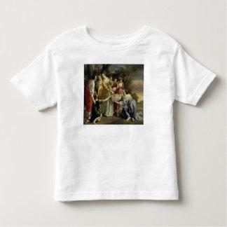 モーゼはナイル、c.1630から救助しました トドラーTシャツ