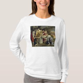 モーゼはナイル、c.1630から救助しました tシャツ