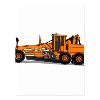 モーターグレーダー ポストカード