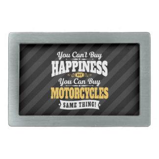 モーターサイクリストの傾斜の買物の幸福はオートバイを買うことができます 長方形ベルトバックル