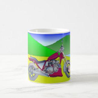 モーターバイクのマグ コーヒーマグカップ