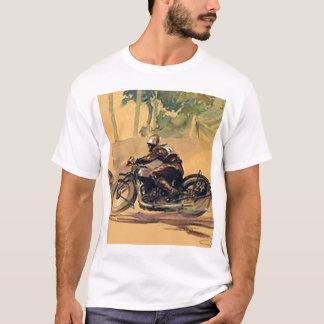 モーターバイクのヴィンテージのTシャツ Tシャツ