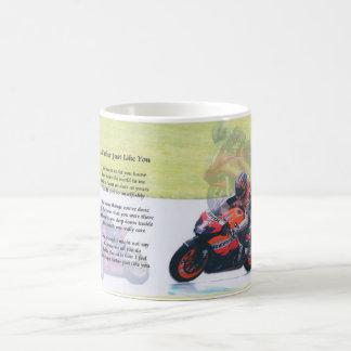 モーターバイクの父の詩 コーヒーマグカップ