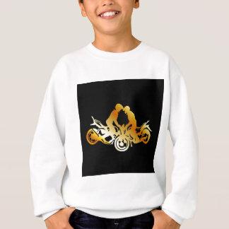モーターバイクの発育阻害を行っている人 スウェットシャツ