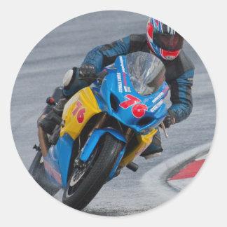 モーターバイクの競争 ラウンドシール