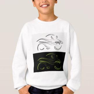 モーターバイクの芸術的なグラフィック スウェットシャツ
