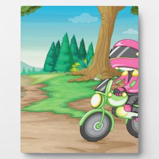 モーターバイク フォトプラーク