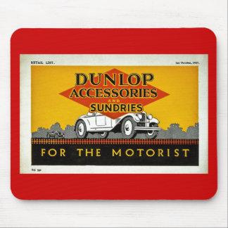 モーターリストのためのDunlopの付属品そして雑貨 マウスパッド