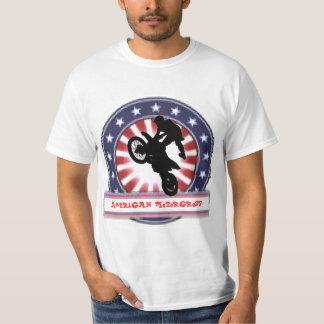 モーター汚れたバイク Tシャツ