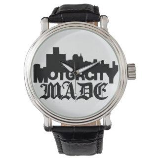 モーター都市によって作られる腕時計 腕時計