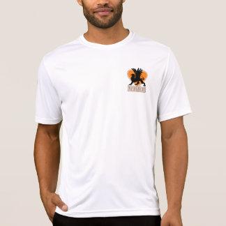 モーター配線管のスポーツTekによって合われる性能T'shirt Tシャツ