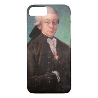 モーツァルトのポートレート iPhone 7ケース