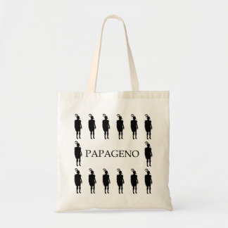 モーツァルトの魔法のフルートからのPapagenoのトートバック、 トートバッグ