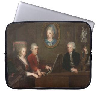 モーツァルト家族のポートレート ラップトップスリーブ