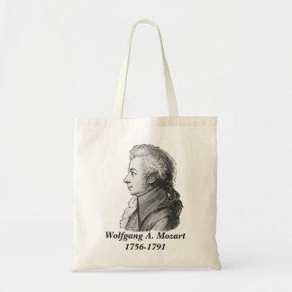 モーツァルト-作曲家 トートバッグ