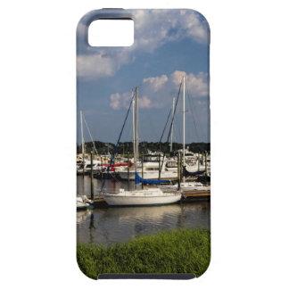 モーニングスターのマリーナのヨットジョージア米国 iPhone SE/5/5s ケース