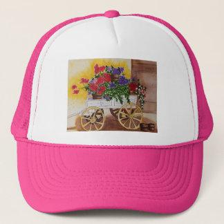 モーラGanleyの花のカートの帽子 キャップ