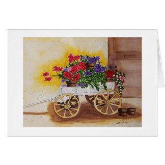 モーラGanleyの花のカートカード カード