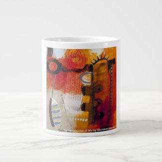 モーリスエバンズ著私の想像 ジャンボコーヒーマグカップ