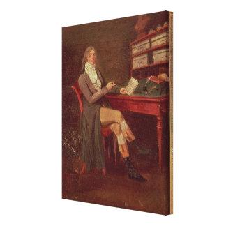 モーリスde Talleyrandのポートレート キャンバスプリント