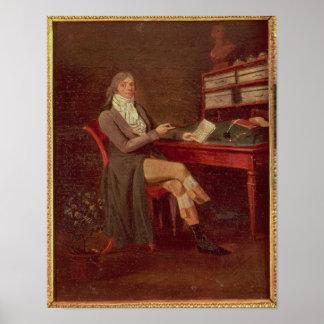モーリスde Talleyrandのポートレート ポスター