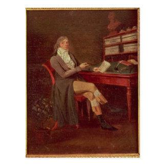 モーリスde Talleyrandのポートレート ポストカード