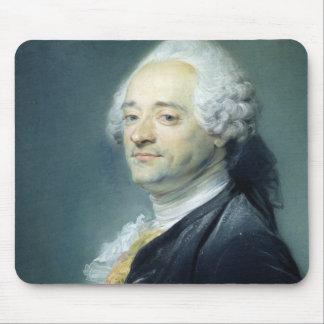 モーリスQuentin de la Tour 1750年のポートレート マウスパッド
