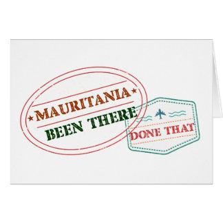 モーリタニアそこにそれされる カード