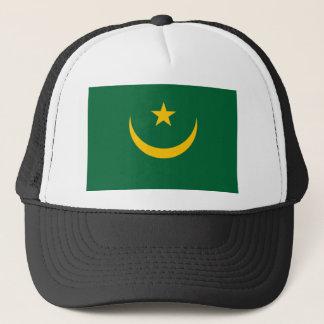 モーリタニアの国民の世界の旗 キャップ