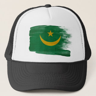 モーリタニアの旗のトラック運転手の帽子 キャップ