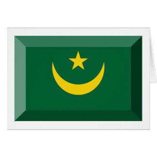 モーリタニアの旗の宝石 カード