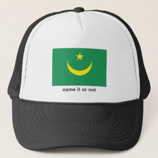 モーリタニアの旗の記念品の帽子 キャップ