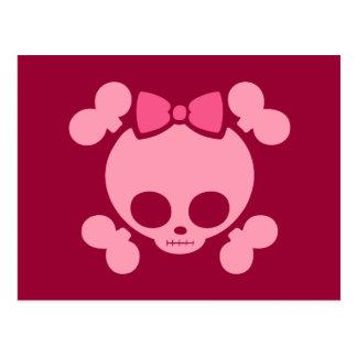 モーリーのピンク ポストカード
