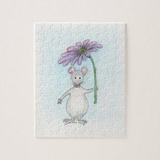 モーリーのマウスの花のパズル ジグソーパズル