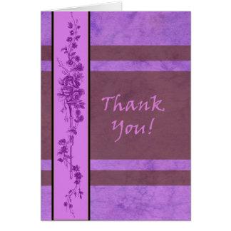 モーリーハリスンによるサンキューカードのブランク カード