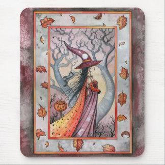 モーリーハリスンによるハロウィンの神秘的な魔法使い マウスパッド