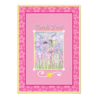 モーリーハリスンによる一致の妖精のサンキューカード カード